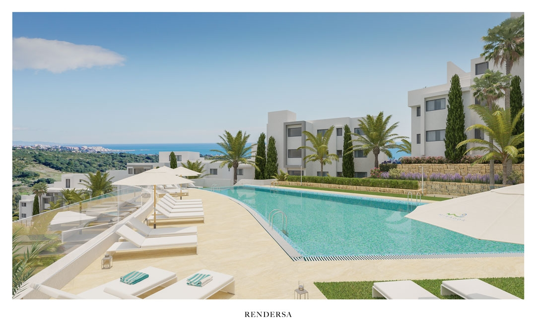 3D Renderings Residential Project in Estepona, Málaga