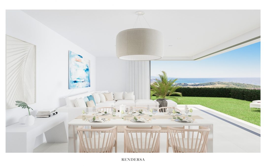 3D Renderings Villas in Finca Cortesín, Marbella