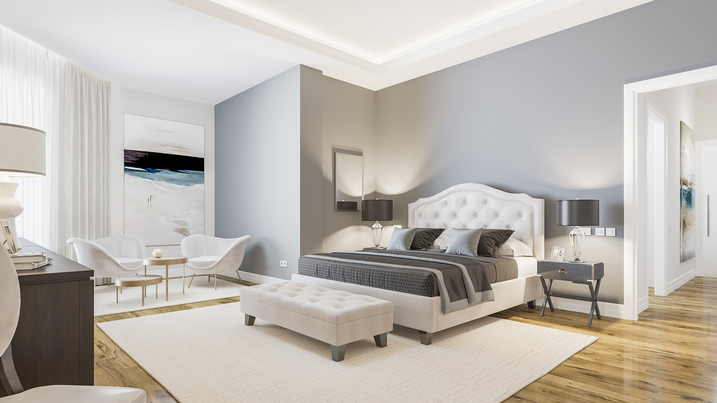 Render de interiorismo 3D Madrid