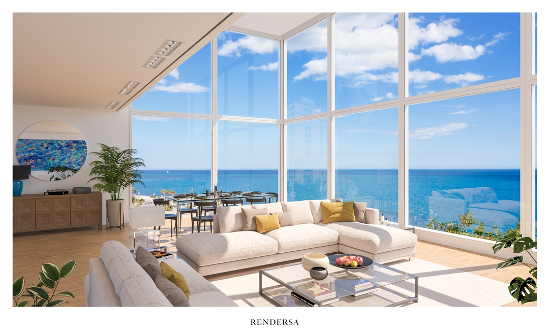 3 Renders Interiorismo 3D South Beach Miami U.S.A.