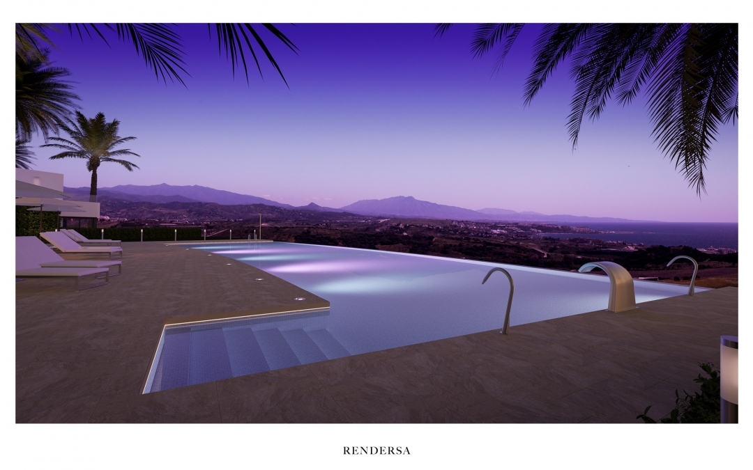 3D Architectural Renderings Apartments in Finca Cortesín, Marbella
