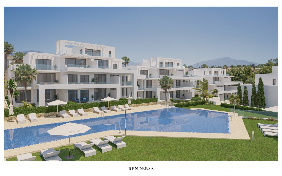 3D Renderings Real Estate Apartments in Marbella