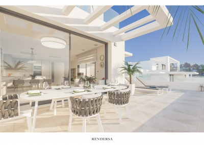 Renders Interiorismo Cortijo del Golf