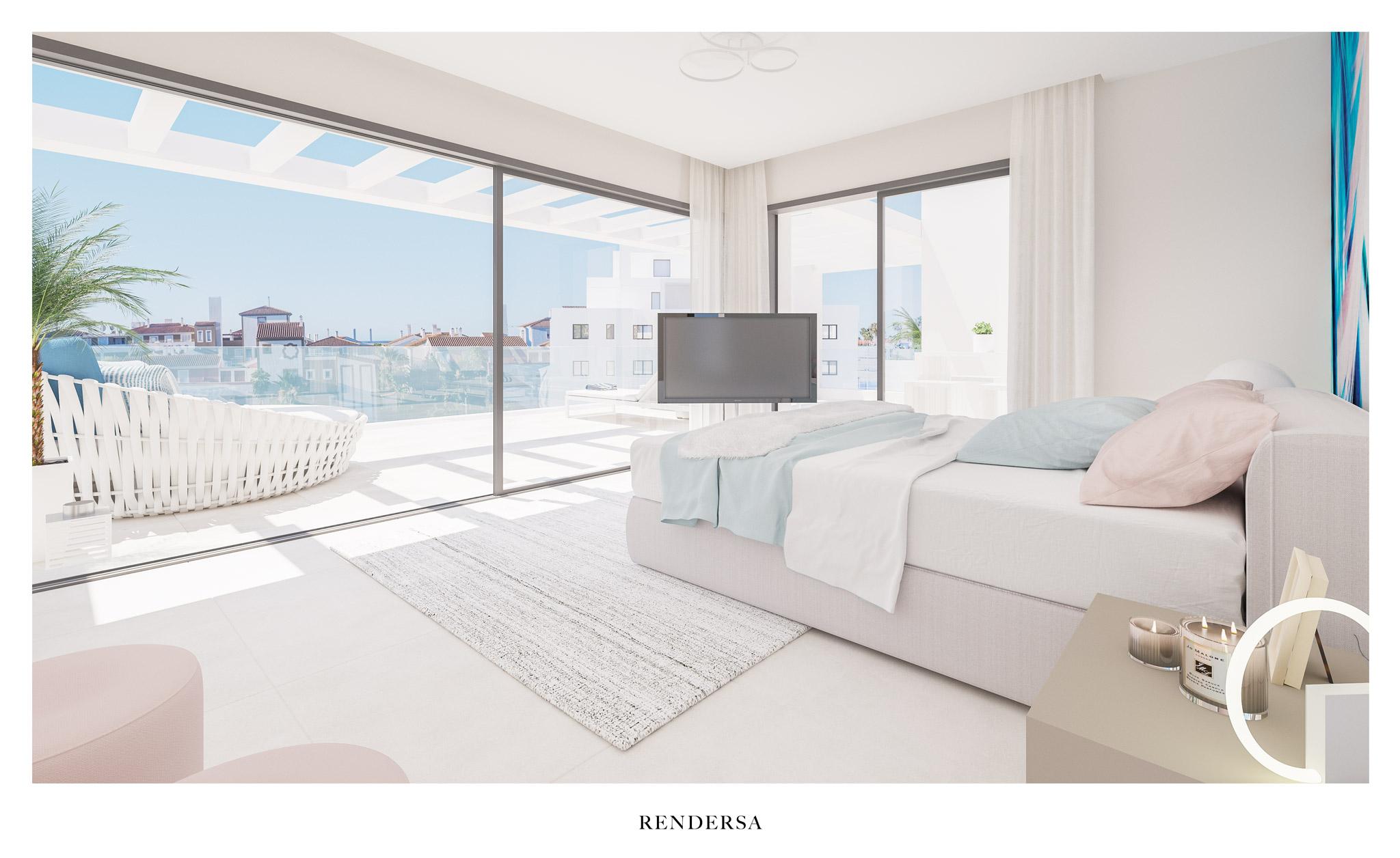 Exterior: 3D Renderings Real Estate Development In Marbella