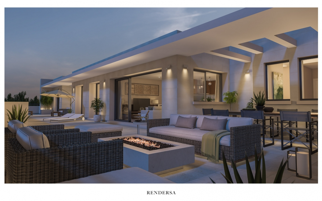 Residential 3D interior renderings Madrid, Colmenar Viejo