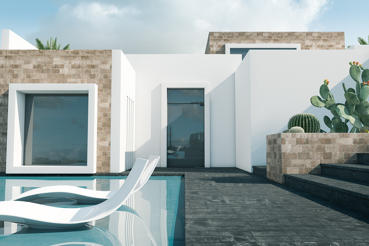 3D architectural Rendering Ibiza